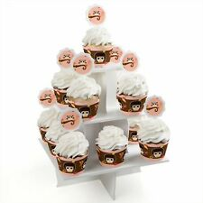 Owl Girl - Cupcake Supplies (Baby Shower or Birthday Party)