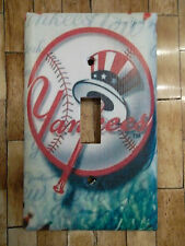 New York Yankees Light Switch Plate Cover Choose Type of Cover  Sports