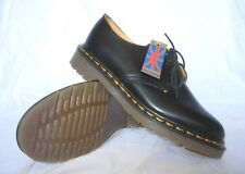 Vintage Dr. Doc Martens Youth Black Gibson Shoe UK 3, 4 & 5  MADE IN ENGLAND