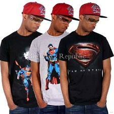 "RINGSPUN ""SUPERMAN"" MENS BOYS SUMMER COMIC MARVEL TEE SHIRTS TIME IS NAPPY MONEY"