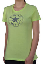 "Converse Women's ""Chuck Taylor All Star"" Stamp Graphic Shirt-Lime Green"