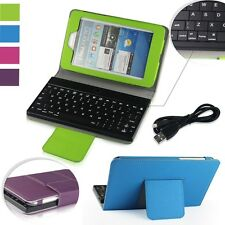 PU Leather Case Cover +Bluetooth Keyboard For Asus Google Nexus 7 2012 1st Gen