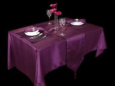 Christmas Renaissance Plum Table Cloths, Runners, Placemats and Napkins
