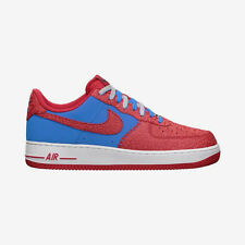 Nike Air Force 1 Photo Blue Hyper Red Godzilla Size 12 US 488298-412 Rare New FS