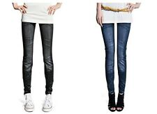 New Women Sexy Demin Jeans Look Jeggings Skiny Tights Pants-MO2