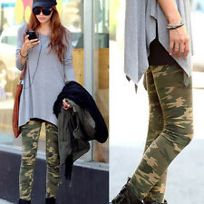 Cool Ladies Leggings Camouflage Army Print Stretch Jeggings Pants Sexy Trousers