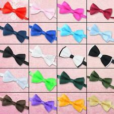 double layer satin dickie bow bowtie for wedding party groom bestman tuxedo suit