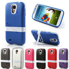 Stand Extended Battery Cradle TPU Case For Samsung Galaxy S4 i9500 5800mAH