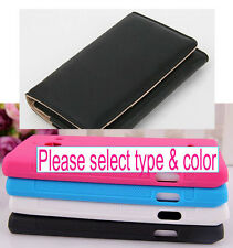 1 TPU Skin Case / Leather Pouch for Huawei Ascend W1 Huawei Windows Phone U8835