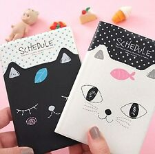 Kawaii Cat Pocket Mini Planner