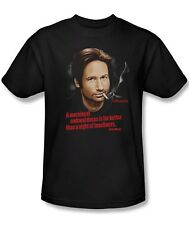 Californication Show Hank Moody Quote Morning Night Tee Shirt Adult S-3XL