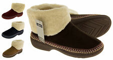 New Ladies Warm Lined Outdoor Sole Slipper Boots Slippers Boot Size 3 4 5 6 7 8