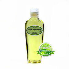 100% PURE SWEET ALMOND CARRIER OIL  2 oz up to gallon FOOD GRADE FOR SOAP MAKING