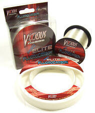 VICIOUS PRO ELITE FLUOROCARBON FISHING LINE 110 YARDS choose lb. test
