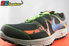 NIKE LUNARFLY+ 3 TRAIL 525027-240 DS RUNNING OLIVE BLUE ORANGE SIZE 8 10 10.5