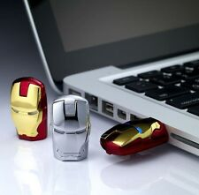 Cool Metal Red Iron Man With Eye Usb 2.0 memory flash stick pen drive 4 /8 /16GB