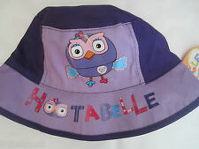 GIGGLE AND HOOT HOOTABELLE Licensed bucket hat BNWT age 1-3 51cm, age 3-5 53cm