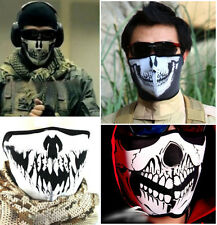 Cool Skull Face Mask Seal Swat Skeleton Cloth Flexible Bike Cosplay Motorcycle