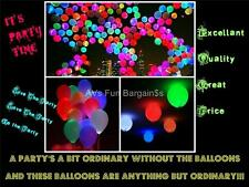 LED Light Balloon - Mix Birthday Party Wedding Function Christmas Events 12""