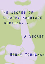 The secret of a happy marriage quote - A3 poster