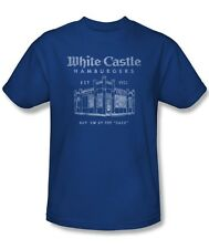 White Castle Hamburgers Buy 'em by the Sack Vintage Style Tee Shirt S-3XL