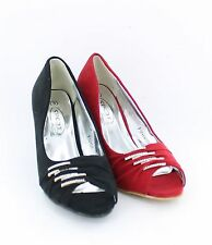 Ladies Spot On Shoes F10151