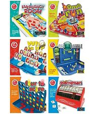 KIDS RANGE OF 6 FAMILY BOARD GAME TRADITIONAL GAMES CHILDRENS OPERATION GUESS