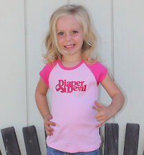 New TODDLER Questionable Youth ( DIAPER DEVIL RAGLAN TEE ) Mulisha Hustler