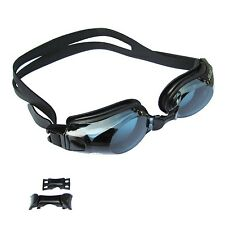 Prescription Optical Swimming Goggles Eyewear Glasses Myopia Anti-fog UV