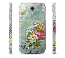Grunged Florals on Green - Hard Cover Case for iPhone, Samsung, 65+ other phones