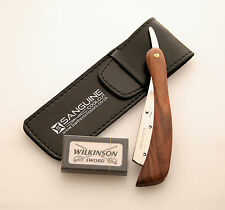 Brand New Shaving Razor, Cut Throat Razors Shavette + Blades & Pouch