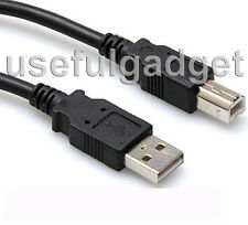 5 Feet USB Printer Cable (Type A to Type B) for HP PhotoSmart Series Printer
