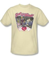 I Love Lucy Show Ricky Lucy Ethel Fred Four of a Kind! Tee Shirt Adult S-3XL