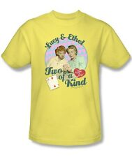 I Love Lucy Show Lucy & Ethel Two of a Kind Licensed Tee Shirt Adult S-3XL