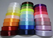 22 m roll of Satin Ribbon Various colours- various widths~ 20mm, 16mm, 12mm, 6mm