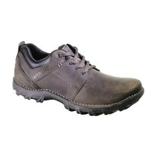 Men's Caterpillar Casual Lace Up Oxford Emerge Muddy Grey Leather P716683