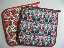OVEN MITT POT HOLDER - LIBERTY FABRIC - CLASSIC DESIGNS - AUSTRALIAN MADE