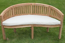 Garden furniture Cushion For Banana / Peanut Bench - Available in 5 colours