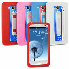 CASSETTE RETRO TAPE SILICONE CASE GEL CASE COVER FOR SAMSUNG GALAXY S3 I9300