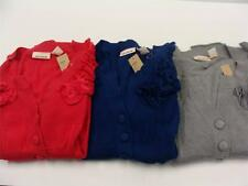 DKNY Jeans Women's Big Button Ruffled Cardigan in Various Colors and Sizes NWT