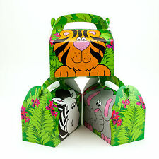 Zoo Animal Treat Gift Boxes Birthday WEDDING Favor SHOWER Loot Buy more & SAVE!