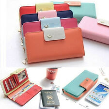 Korean Style Phone Case Wallet For Iphone 4 4S 5S Samsung Galaxy Note 2 S3 S2