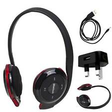 BH503 BLUETOOTH WiRELESS STEREO HEADPHONES HEADSET CHARGER FOR LG U900 n more