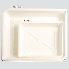 2 pcs Darkroom DEVELOPING Chemical TRAYS Dish for Photographic Films Studio Shop