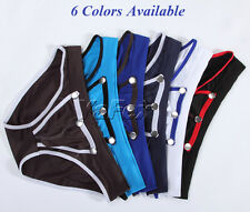 New Sexy Penis Pouch Men's Smooth Fashion Underwear Briefs Shorts IN 6 Colors