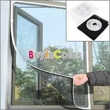 Home Curtain Door Window Pre Insect Fly Netting Mosquito Mesh Screen Sticky Tape