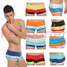 JQK Sexy Soft Mens Sheer Brief Men Underwear With Line Patten2 With many color