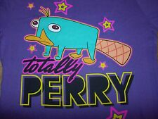 Perry the Platypus Phineas & Ferb T-Shirt Juniors Size Large or XL