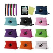 N071 360°Rotating Magnetic Leather Case Smart Cover Swivel Stand For iPad Air 5