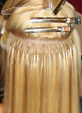 Hot Fusion Hair Extensions Keratin Glue AAAA+ Remy Hair - 25 Strands Per Pack
